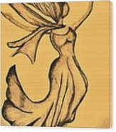 Rejoicing Wood Print