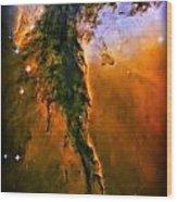 Release - Eagle Nebula 3 Wood Print