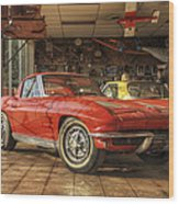 Relics Of History - Corvette - Elvis - Nehi Wood Print