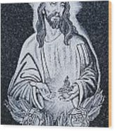 Religious Icons In Spanish Cemetery Wood Print