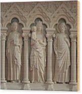 Religious Relief Wood Print