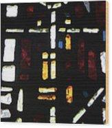 Religious Symbols In Glass Wood Print