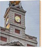Reloj De Gobernacion 2 Wood Print