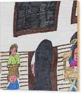 Remember When Teachers Were Nuns  Wood Print