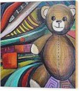 Remembering Childhood Wood Print