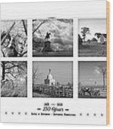 Remembering Gettysburg Wood Print