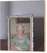 Remembering Grandma Wood Print