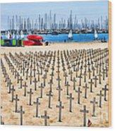 Remembering Heros By Diana Sainz Wood Print