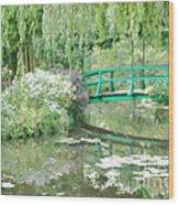 Remembering Monet  Wood Print