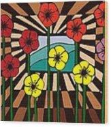 Remembrance Poppy Wood Print