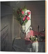 Remembrance The Vase Wood Print