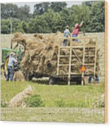 Reminiscences Days Shipshewana Wood Print