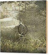 Reminiscing Wood Print by Ellen Cotton