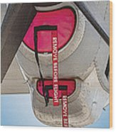 Remove Before Flight Wood Print
