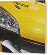 Renault Megane Trophy V6 Wood Print