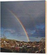 Renewed Hope Wood Print by Nancy Pauling