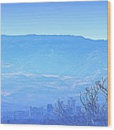 Reno Blues Wood Print