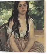 Renoir, Pierre-auguste 1841-1919. In Wood Print