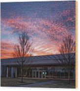 Renzo Piano Pavilion Wood Print