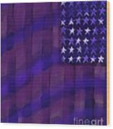 Repersentational Flag 3 Wood Print