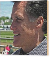 Republican Mitt Romney Wood Print