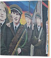 Republican Murals Against British Rule Wood Print