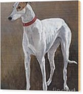 Rescued Racer Wood Print by Charlotte Yealey
