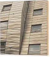 Chelsea High Line Residential Building Wood Print