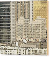 Residential High Rises In Beijing China Wood Print