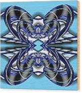Resist The Flow 2 Wood Print