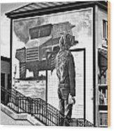 Resistance Mural In Derry Wood Print