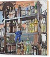 Resort Cantina Bar Wine-liquor-beer Wood Print