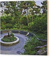 Respite - Carl Schurz Park 2 - Manhattan - New York Wood Print