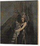 Respite Of Andraste - Fantasy Wood Print