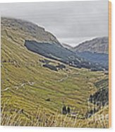 Rest And Be Thankful Pass Wood Print