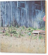 Rest Here Wood Print