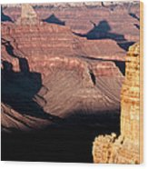 Restful Canyon Wood Print