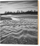 Restless River IIi Wood Print by Davorin Mance