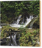 Restless Water Wood Print