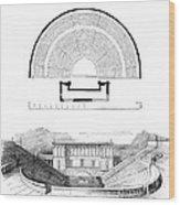 Restoration Of The Greek Theater Wood Print