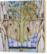 Resurrection Island Wood Print