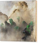 Resurrection-iv Wood Print