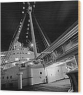 Retired Queen Mary Upper Deck Wood Print