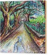 Retorno  Wood Print