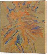 Retrato De Una Bailarina Wood Print