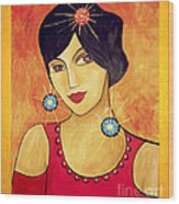 Retro 113 - Marucii Wood Print
