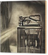 Retro Deco Wood Print