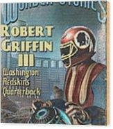 Retro Sci Fi Rg3 Wood Print