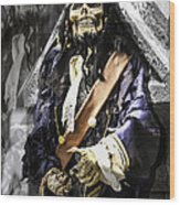 Return Of The Pirate Wood Print