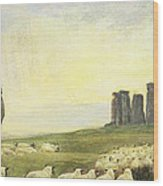 Returning Home     Stonehenge Wood Print